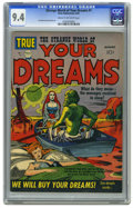 Golden Age (1938-1955):Science Fiction, Strange World of Your Dreams #1 (Prize, 1952) CGC NM 9.4 Cream tooff-white pages. Idea men extraordinaire Joe Simon and...