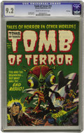 Golden Age (1938-1955):Horror, Tomb of Terror #14 File Copy (Harvey, 1954) CGC NM- 9.2 Cream tooff-white pages. This special science fiction issue feature...