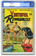 Golden Age (1938-1955):Romance, Youthful Romances #8 (Pix Parade, 1951) CGC FN+ 6.5 Light tan tooff-white pages. A Wally Wood swimsuit cover is guaranteed ...