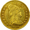 Early Quarter Eagles, 1804 $2 1/2 14 Stars Reverse MS62 NGC. CAC. BD-2, R.4....