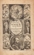 Books:Science & Technology, Giovanni Battista (Giambattista) della Porta. Natural Magick By John Baptista Porta, A Neopolitane: In Twenty Book...