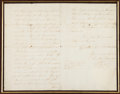 Autographs:Statesmen, Benjamin Franklin Autograph Letter Signed... (Total: 2 Items)