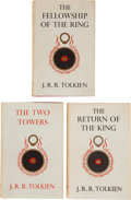 Books:Science Fiction & Fantasy, J. R. R. Tolkien. The Lord of the Rings, including: The Fellowship of the Ring. London: George Allen & U... (Total: 3 Items)