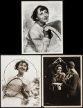 """Movie Posters:Miscellaneous, Luise Rainer by Ted Allen (MGM, 1930s). Publicity Photos (3) (10"""" X13""""). Miscellaneous.. ... (Total: 3 Items)"""