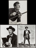 "Movie Posters:Western, Joel McCrea in Stars in My Crown & Other Lot (MGM, 1950). Photos (2) (10"" X 13"") & Portrait Photo (10.5"" X 13.5""). Western.... (Total: 3 Items)"