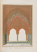 Books:Art & Architecture, [Chromolithography]. Owen Jones and Jules Goury. Plans,Elevations, Sections and Details of the Alhambra, fromdra... (Total: 2 Items)