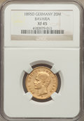 German States:Bavaria, German States: Bavaria. Otto gold 20 Mark 1895-D XF45 NGC,...