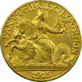 Commemorative Gold, 1915-S $2 1/2 Panama-Pacific Quarter Eagle MS64 NGC. CAC....