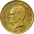 Commemorative Gold, 1917 G$1 McKinley MS65 NGC. CAC....