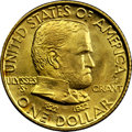 Commemorative Gold, 1922 G$1 Grant With Star MS67 NGC. CAC....