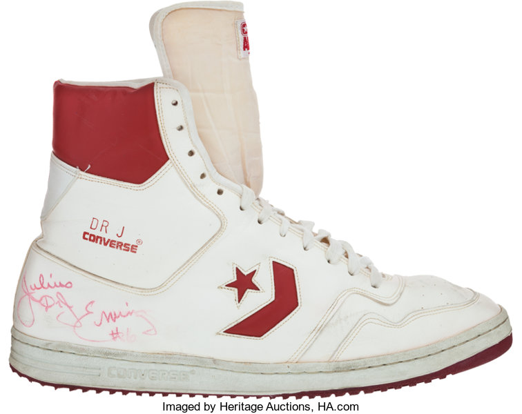 9287ff426cc Early 1980 s Julius Erving Game Worn