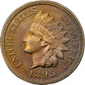 Proof Indian Cents, 1895 1C PR64 Red and Brown NGC. CAC....