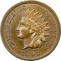 Proof Indian Cents, 1898 1C PR65 Brown NGC....