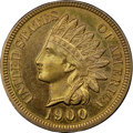 Proof Indian Cents, 1900 1C PR65 Red and Brown NGC. CAC....