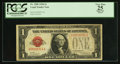 Small Size:Legal Tender Notes, Low Serial Number 00000714 Fr. 1500 $1 1928 Legal Tender Note. PCGS Apparent Very Fine 25.. ...