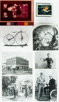 Books:Prints & Leaves, [Bicycles]. Archive of Material related to Nineteenth CenturyBicycles. Published in or used as research material forAmer...