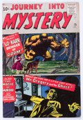 Silver Age (1956-1969):Horror, Journey Into Mystery #75 (Marvel, 1961) Condition: VG+....