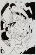 Original Comic Art:Splash Pages, Salvador Larroca and Art Thibert Fantastic Four V3 #33Splash Page 22 Original Art (Marvel, 2000)....