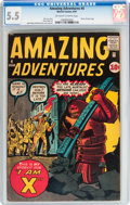 Silver Age (1956-1969):Horror, Amazing Adventures #4 (Marvel, 1961) CGC FN- 5.5 Off-white to whitepages....