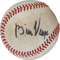 Autographs:Baseballs, Circa 1980 Bill Veeck Single Signed Baseball....