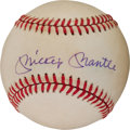 Autographs:Baseballs, Circa 1980 Mickey Mantle & Roger Maris Signed Baseball....