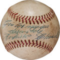 Autographs:Baseballs, 1969 Roberto Clemente Single Signed Baseball....