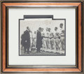 Autographs:Photos, 1924 Casey Stengel World Tour Signed Type 1 Photograph....