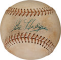 Autographs:Baseballs, 1960's Gil Hodges Single Signed Baseball....