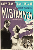 "Movie Posters:Hitchcock, Suspicion (RKO, 1948). Danish Poster (23"" X 33"").. ..."