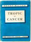 Books:Literature 1900-up, Henry Miller. Tropic of Cancer. Paris: Obelisk Press, [1939]. Fifth printing. Original wrappers, soiled, with some f...