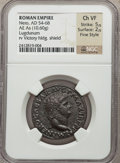 Ancients:Roman Imperial, Ancients: Nero (AD 54-68). Æ as (10.60 gm)....