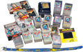 Memorabilia:Trading Cards, DC Comics Related Non-Sports Trading Cards Box Lot (VariousPublishers, 1990s)....