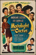 """Movie Posters:Musical, Moonlight and Cactus (Universal, 1944). One Sheet (27"""" X 41"""") &Lobby Cards (6) (11"""" X 14""""). Musical.. ... (Total: 7 Items)"""
