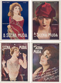 Books:Pulps, [Cinema]. A Scena Muda. Rio de Janeiro: Companhia EditoraAmericana, 1926, 1928. First editions. Issues 260 (March 1...(Total: 9 Items)