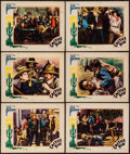 """Movie Posters:Western, The Cactus Kid (William Steiner, 1935). Lobby Cards (6) (11"""" X 14""""). Western.. ... (Total: 6 Items)"""
