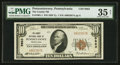 National Bank Notes:Pennsylvania, Punxsutawney, PA - $10 1929 Ty. 1 The County NB Ch. # 9863. ...