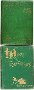 "Books:Literature Pre-1900, [Featured Lot]. W.S. Gilbert. The ""Bab"" Ballads. [togetherwith:] More ""Bab"" Ballads. London: John Camden Ho..."