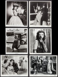 """Movie Posters:Adventure, Paulette Goddard in Reap the Wild Wind & Others Lot (Paramount, 1942). Photos (9) (8"""" X 10"""" & 10.5"""" X 13.75""""). Adventure.. ... (Total: 9 Items)"""