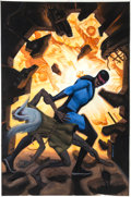 Original Comic Art:Covers, Steve Rude Nexus Archives #6 Cover Painting Original Art(Dark Horse, 2007)....