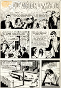 "Original Comic Art:Complete Story, Reed Crandall Twilight Zone #15 ""Vision of Mystir"" Complete9-Page Story Original Art (Gold Key, 1966).... (Total: 9 OriginalArt)"