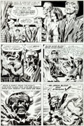 Original Comic Art:Panel Pages, Jack Kirby and Mike Royer The Demon #14 Page 10 Original Art(DC, 1973)....