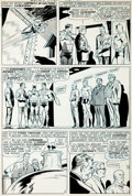 Original Comic Art:Panel Pages, Curt Swan and George Klein World's Finest #159 Page 2Original Art (DC, 1966)....