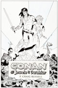 Original Comic Art:Covers, P. Craig Russell Conan and the Jewels of Gwahlur CoverOriginal Art (Dark Horse, 2005)....