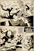 Original Comic Art:Panel Pages, Mike Zeck and John Beatty Captain America #277 Page 15Original Art (Marvel, 1983)....