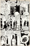 Original Comic Art:Panel Pages, Dave Gibbons Watchmen #7 Page 10 Original Art (DC, 1987)....