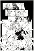 Original Comic Art:Panel Pages, Francis Manapul and Duy Truong (as D-Tron) Witchblade #53 Page 19 Original Art (Image, 2002)....