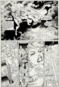 Original Comic Art:Panel Pages, Arthur Adams and Terry Austin X-Men Annual #10 Page 33Original Art (Marvel, 1987)....