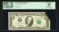Error Notes:Foldovers, Fr. 2028-A $10 1988A Federal Reserve Note. PCGS Apparent ExtremelyFine 40.. ...