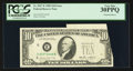 Error Notes:Foldovers, Fr. 2027-E $10 1985 Federal Reserve Note. PCGS Very Fine 30PPQ.....