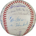 Autographs:Baseballs, 1964 San Francisco Giants Team Signed Baseball....
